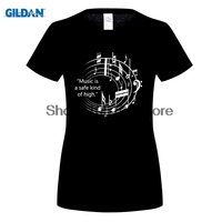 GILDAN Women Fashion Brand T Shirt 2017 Women Fashion T Shirts Short Sleeve 100 Cotton Tees