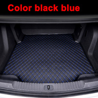 Custom fit car Trunk mats for Toyota Crown 12th 13th 14th generation 5D heavy duty rugs carpet floor liners(2005 )