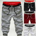 New 2014 Spring & Autumn Free Shipping Hot-sale Men Casual Shorts Trousers Men Harem Sweatpants Clothing M-XXL