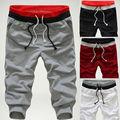 Novo 2014 Spring & Outono Frete Grátis Hot-venda Men Shorts Casual Calças Men Harem Sweatpants Roupas M-XXL