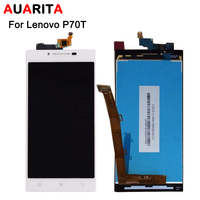 1pcs Auarita LCD Display And Touch Screen Assembly For Lenovo P70 P70 T P70t Black White