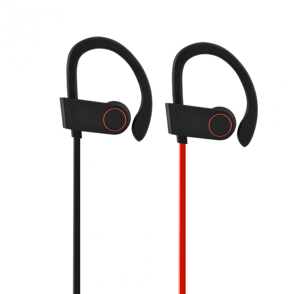 Wireless Bluetooth 4.1+EDR Long-Standby Headset Sport Earphone IP67 Waterproof Ear-hook Headse ...