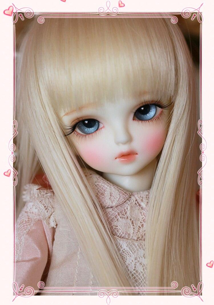 Feny 1/6 BJD lalki BJD moda piękny model żywica wspólne lalki dla dzieci prezent urodzinowy dla niej losowy oczy w Lalki od Zabawki i hobby na  Grupa 1