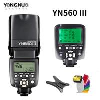 YONGNUO YN560III YN560 III Wireless Flash Speedlite Speedlight + YN560TX Trigger For Canon Nikon Olympus Panasonic Pentax Camera