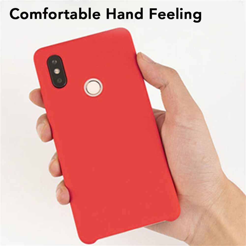 New Silicone Case For Xiaomi 8 se 6 6x max 3 plus mix 2s Protective Original Back Cases For Redmi 6 6a Phone Cover