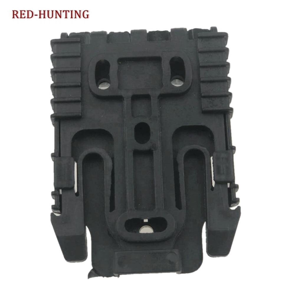 Gun Accessories Quick Locking System Kit Safariland QLS System For Belt Holster Glock 17 1911 M9 P226