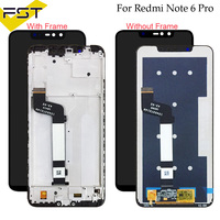 For XiaoMi Redmi Note 6 Pro LCD Display+Touch Screen Digitizer Assembly Repair Parts With Tools +Adhesive For Redmi Note 6Pro