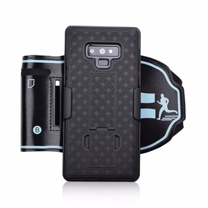 Image 3 - Note9 Wrist Band Phone holder Hard Back Cover for Samsung Galaxy Note 9 Case Running Sports Jogging Armband Wristband
