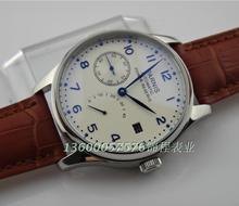 Parnis ST2530 movimiento energy mecánico automático reloj de hombre muestra gran dial relojes de hombre
