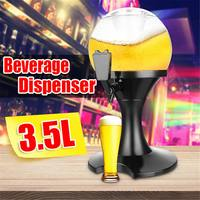 3.5L Beer Container Pourer Bar Ice Core Beer Beverage Dispenser Machine Container Pourer Bar Tool Beer Tower