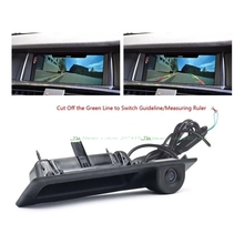 Per Sony ccd auto telecamera posteriore per BMW Tronco interruttore Maniglia Parcheggio macchina fotografica F10 F11 F25 F30 BMW 5 5/3 BMW X3 Vista Posteriore fotocamera