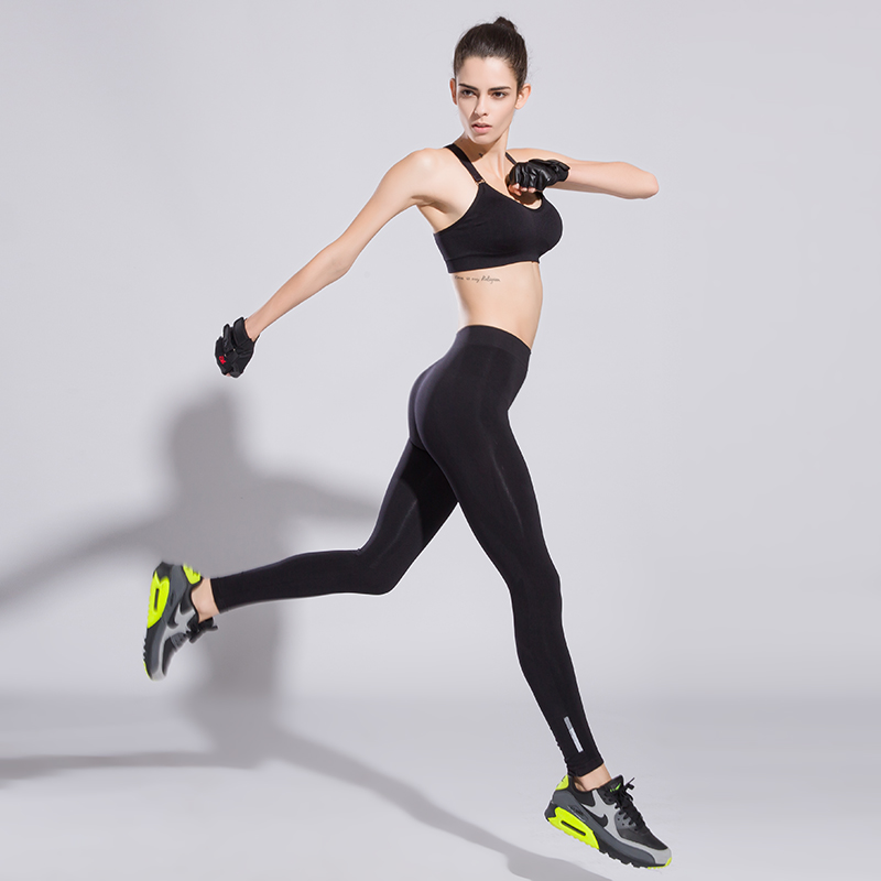 2016 Breathable font b Women b font Sport Yoga Pants for Running Fitness Gym Tights Quick