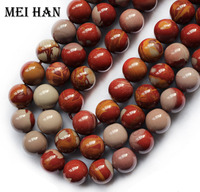 Wholesale 2 Strands Lot Natural 10mm Norena Jasper Smooth Round Beads Gem Stone For Jewelry Making