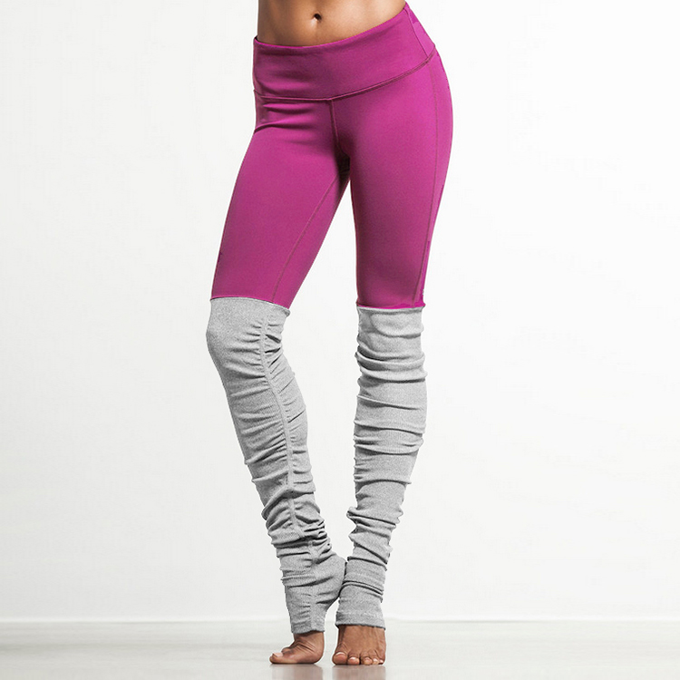 f62faefa773ff2 Skinny Running Tights Women Yoga Pants Black Sports Leggings Pink Gym  Leggins Sport Women Fitness Pants Slim Women Leggings-in Yoga Pants from  Sports ...