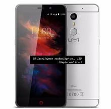"El Caso UMI MTK6755 de Helio P10 Max 4G LTE Octa Core Teléfono Móvil 5.5 ""Huella Digital FHD 3 GB + 16 GB Android 6.0 13MP Smartphone"