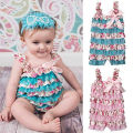 Baby girl romper cotton brand ropa bebe recien nacido infant princess dress outfit lace floral new born baby clothing