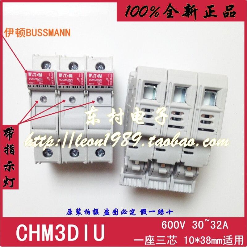 [SA]-Bussmann porte-fusible CHM3DIU 30A 600V 10 fois; 38mm ruban LED assurance-2 pièces/lot