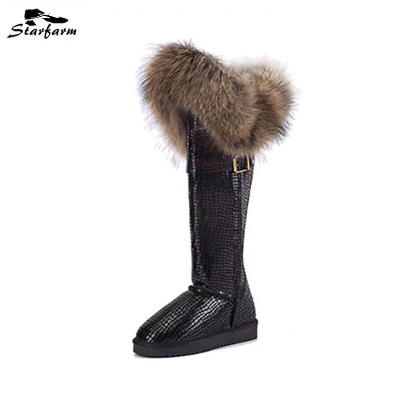 Fur Shoe Boots