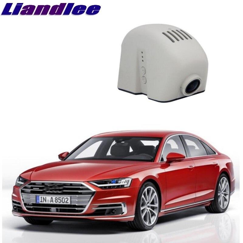 Liandlee For Audi A8 S8 D3 2002~2009 Car Black Box WiFi DVR Dash Camera Driving Video Recorder накладки на пороги audi a8 d3 2002 2009