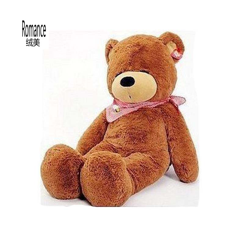 200cm big size Teddy bear plush toys stuffed plush toys soft toy Christmas gift factory supply 70cm chi s sweet home plush toys cat aoft toys stuffed plush toys factory supply freeshipping