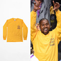 2016 Yeezy Kanye West I Feel Like Kobe long sleeve commemorate T shirt