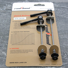 RedLand Mountain Bicycle Hub Accessories Hub Quick Release MTB Bike Quick Release Front 115 Rear 151mm Wheel Hub Skewers 1 pair quick release bicycle quick release shaft core mountain bike hub quick release bicycle hub quick release rod hub accessories