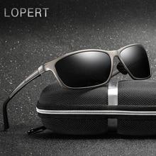LOPERT polarizēti saulesbrilles vīrieši alumīnija magnija HD saulesbrilles braukšanas brilles culos vīriešu brilles aksesuāri vīriešiem