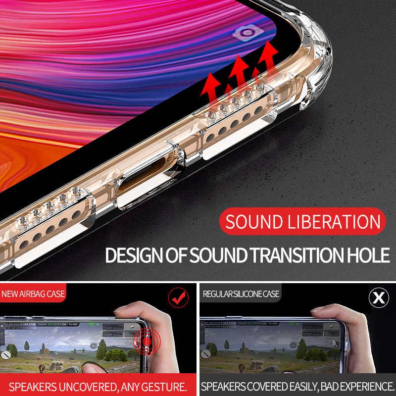 MSVII Прозрачный чехол для телефона бампер мягкий силиконовый чехол на для Xiaomi mi 8 лайт Lite mi 8 Lite 4/6 64/128 ГБ Xio mi Light