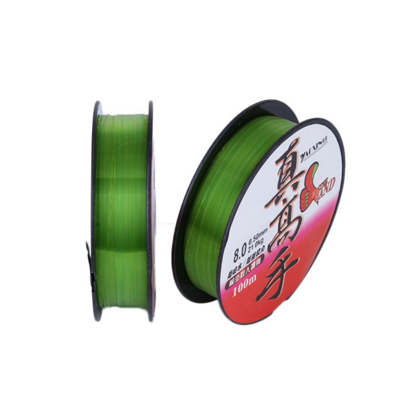 100m Sea Otter Line Fishing Line High Cut Water Nylon Fishing Line Fishing Gear Accessories Fishing Line W8
