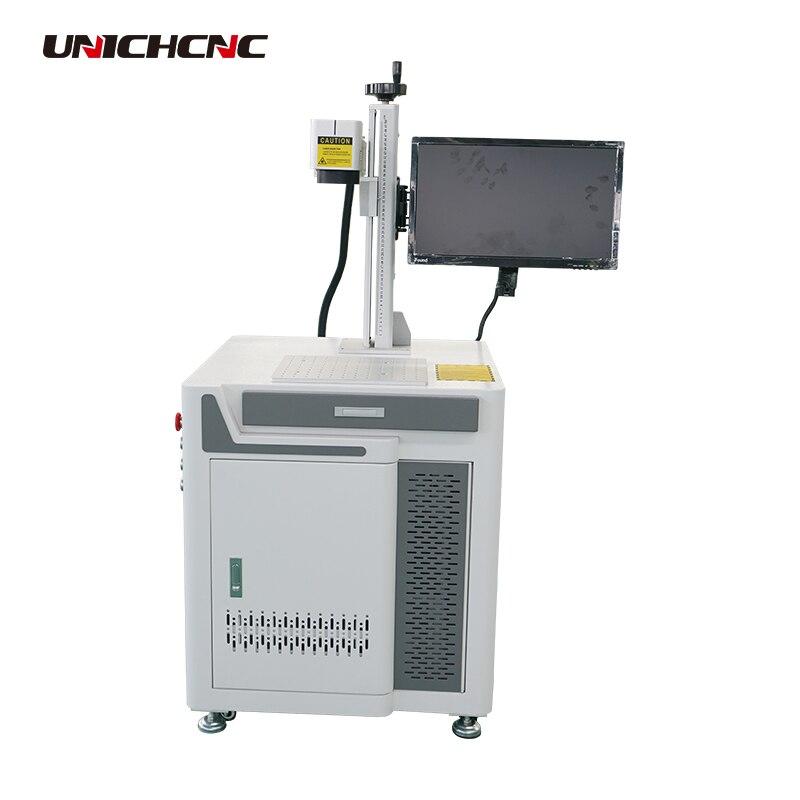 Mini machine de gravure de métal de laser de fibre de la table 3d en chine
