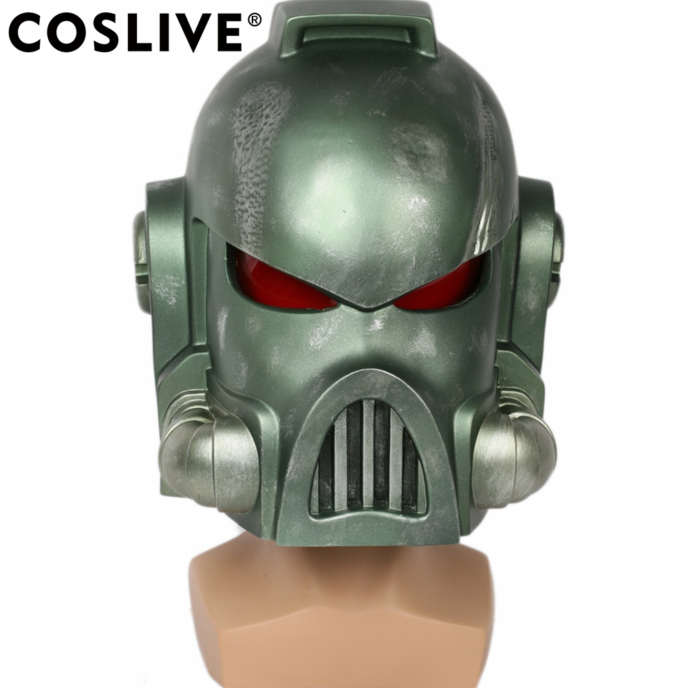 Coslive Space Marine Casque Masque Cosplay Props Adulte Halloween Costume Accessoires Pour Unisexe