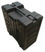 New arrive! Hot sale! Tricases factory IP65 waterproof shockproof dustproof rotational molded 6u simple rack cases