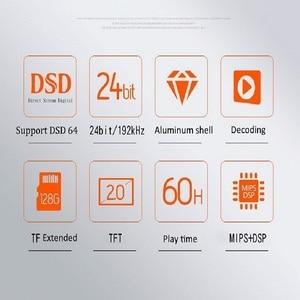 Image 5 - Profissional de alta fidelidade lossless mp3 music player dsd 64 256 flac alac mini esporte correndo áudio digital 24bit 192khz dac amp