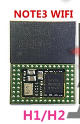 fix samsung galaxy note 3 n9005 wifi - wifi module chip bottom with ic H1/H2 for Samsung Galaxy Note 3 III N900 N9002 N9005