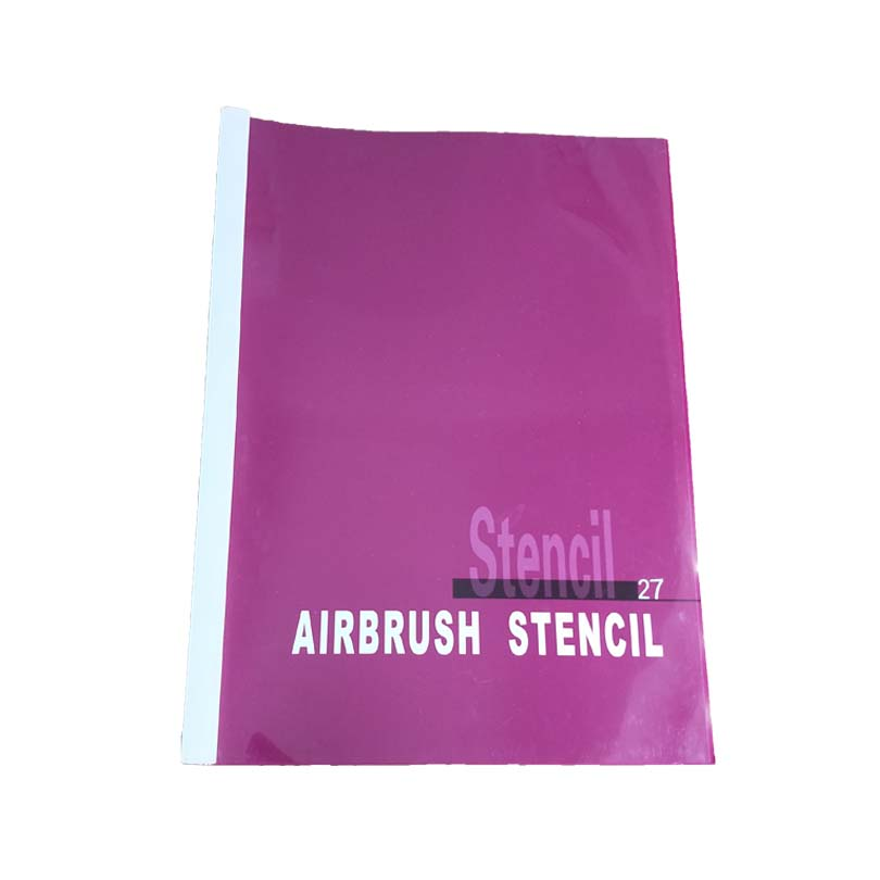 2018 New Self-Adhesive Body Art Temporary Airbrush Tattoo Stencil Book 2PH-SB027 For Tattoo Body Art new 234 designs temporary airbrush tattoo stencil book temporary glitter airbrush henna tattoo templates stencil for painting