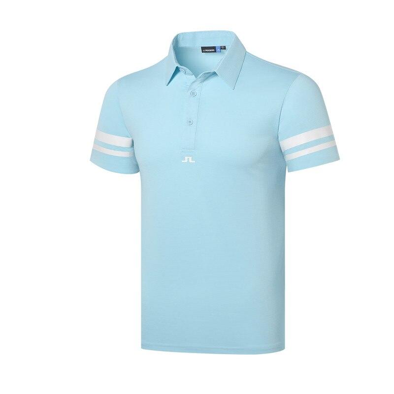 Cooyute nouveaux hommes Sportswear à manches courtes JL Golf T-shirt 4 couleurs Golf vêtements S-XXL au choix loisirs Golf chemise livraison gratuite - 2
