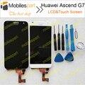 ЖК-Экран для Huawei G7 Новый Высокое Качество ЖК-Дисплей + Сенсорный Экран Замена Аксессуары Для Huawei Ascend G7 Смартфон