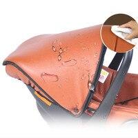 портативный коричневый корзина с сиденье безопасности в делюкс коляска