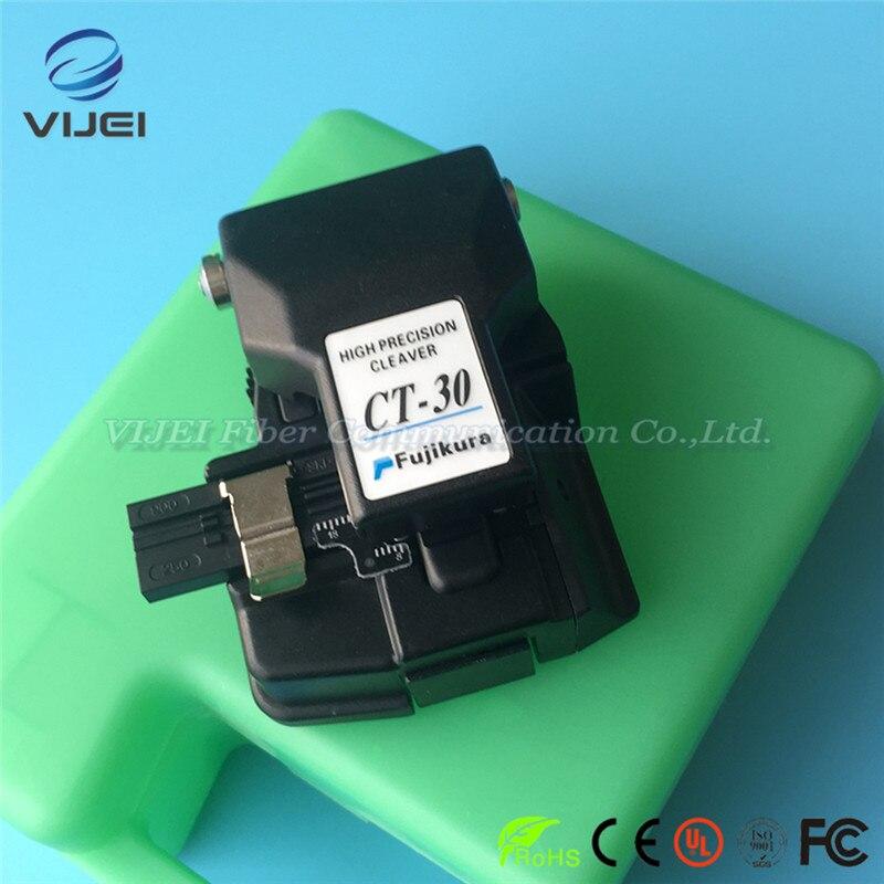 Fabriqué en chine fuji kura haute précision CT-30 Fiber couperet Fiber optique couteau de coupe CT30A CT-30A Fiber couperet - 4