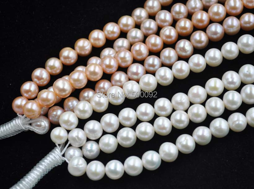 wholesale 4 strands 10mm white cultured freshwater pearl 2016 wholesale 1212 298 10mm size 60
