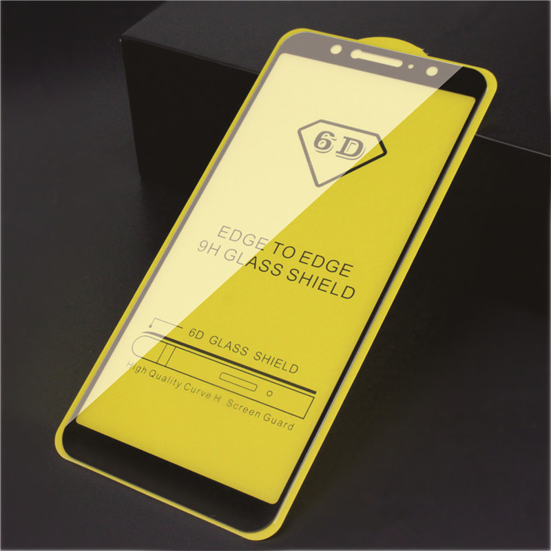 2pcs 9D Tempered Glass For Nokia 3.1 5.1 6.1 7.1 8.1 Plus Glass Nokia X3 X5 X6 X7 Screen Protector  HD Protective Glass Film