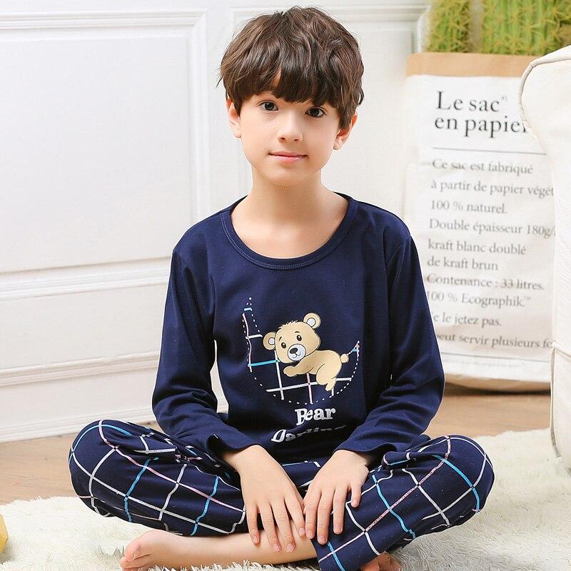 RKOIAN Little Boys Long Sleeve Pajamas Sets Toddler 100/% Cotton Pjs Kids Sleepwears