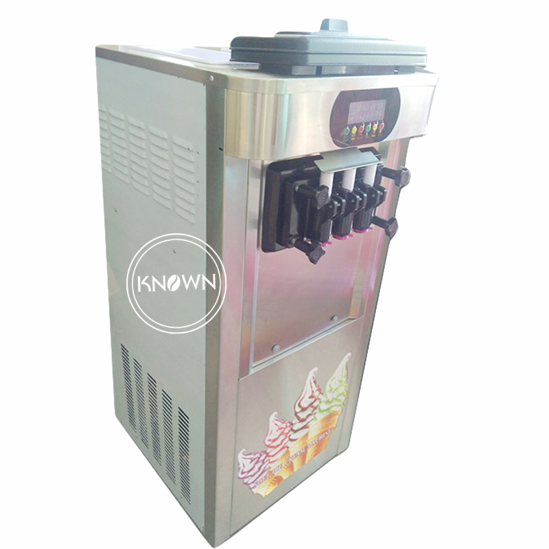 Commercial Soft Ice Cream Machine Automatic Ice Cream Maker Intelligent Soft Serve Ice Cream Machine