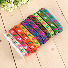 2cm national wind, jacquard ribbon, embroidery curtain, home textile, performance clothing accessories, lace wholesale AP2116