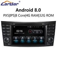 7 Android Автомобильная dvd навигационная система радио аудио стерео плеер для Mercedes Benz E Class W211 CLS W219 CLK W209 G W463 2001 2008