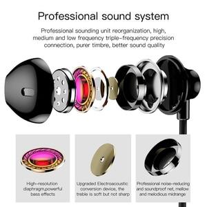 Image 5 - Baseus h06 3.5mm com fio fone de ouvido com microphoe fone de ouvido estéreo para iphone 6s plus para samsung s10 fones de ouvido