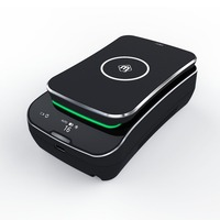 T02 Portable Wireless Charging Smart Air Purifier Car Cigarette Smoke Air Purifier with Wireless Mobile Charger