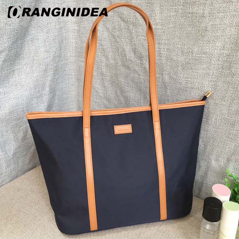 цена на Women Tote Bag Large Capacity Handbag Lady Casual Nylon Shoulder Bags Female Crossbody Messenger Bags handtas bolsa sac a main