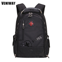 VENIWAY Brand New Swiss Cross Gear Waterproof Laptop Backpacks 15 Inches Large Capacity Quality Backpack Men