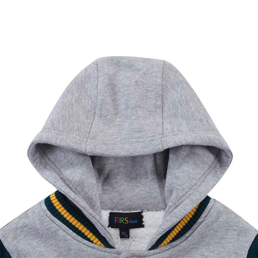 2ebaf004a FIRS KIDS boys coats and jackets 2016 autumn winter hooded coat ...